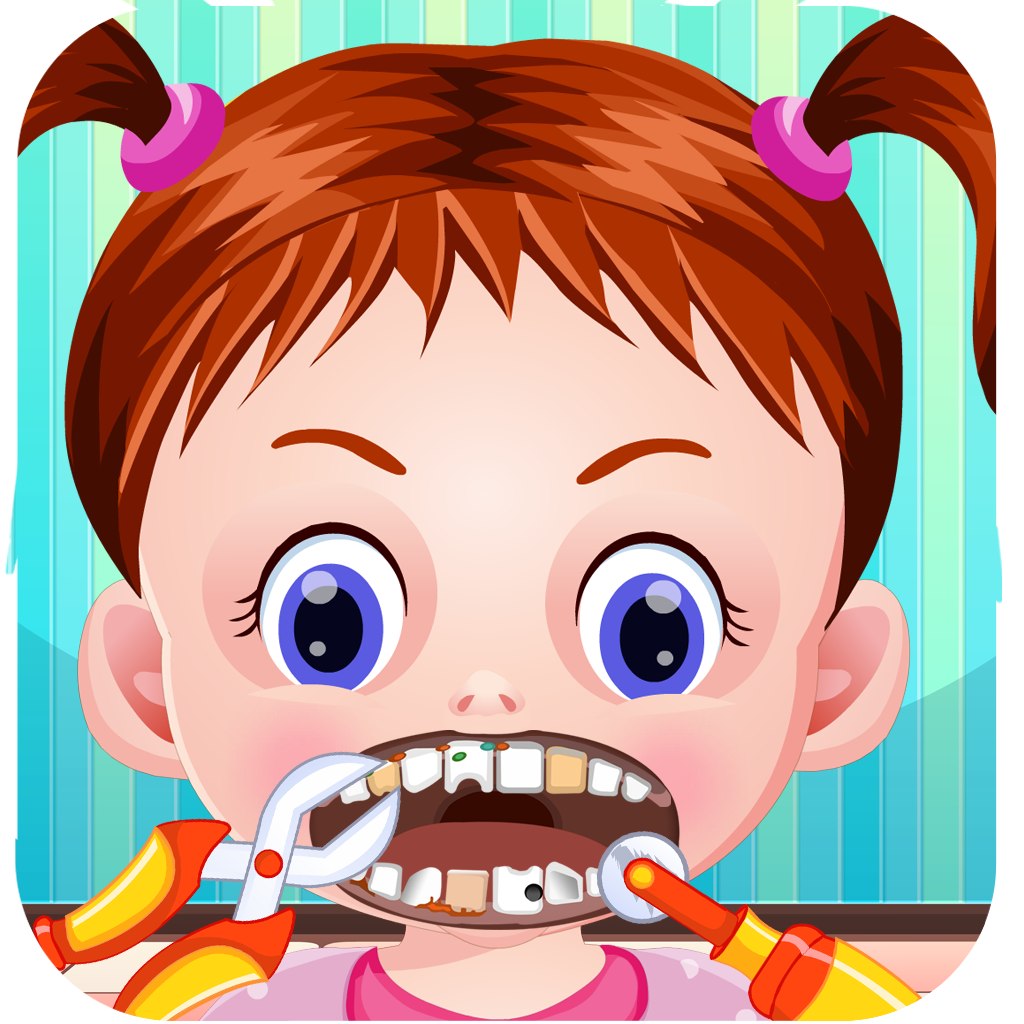 A Baby Little Tooth Doctor Dentist - Crazy Free Kids Office Games